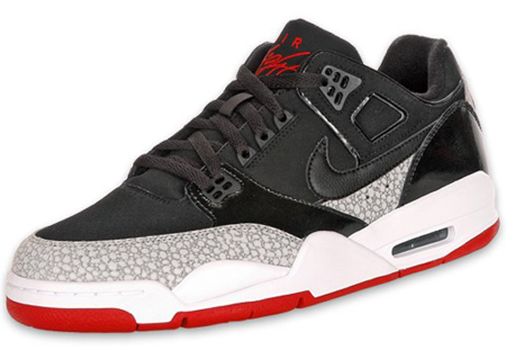 Nike Air Flight Condor - Black / Varsity Red / White