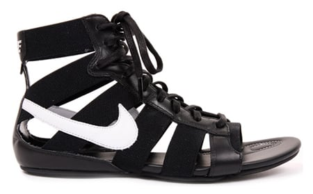 Nike Women's Gladiator Mid - Black, White