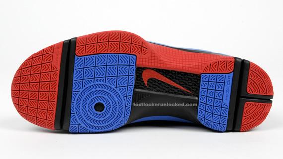 Nike Hyperize - Black / Red - Royal Blue