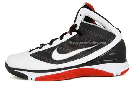 Nike Hyperize - White / Black / Red