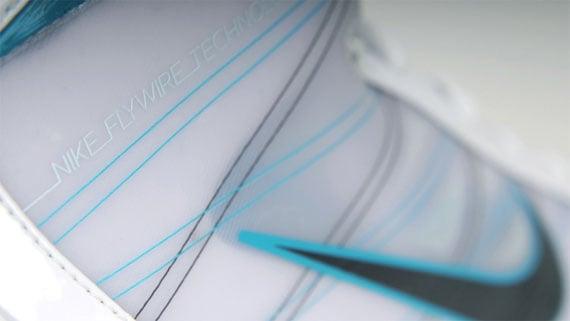 Nike Hyperize - White / Grey - Aqua
