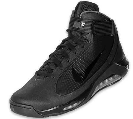 Nike Hypermax - Black / Black / Silver