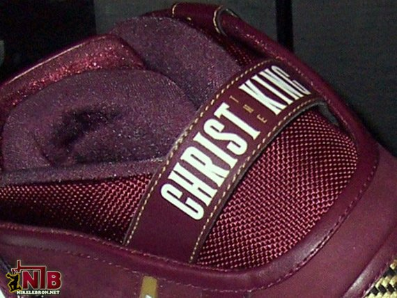Nike Zoom LeBron VI (6) - Christ the King Away PE