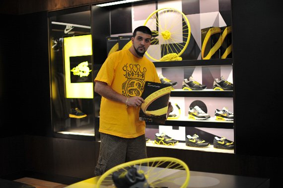 Nike Livestrong Air Max Collection Recap at Shoe Gallery