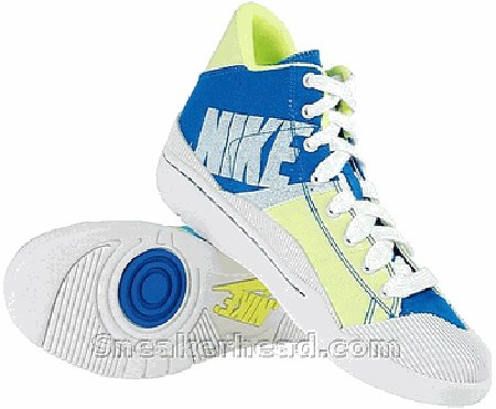 Nike Women's Outbreak High - Imperial Blue / White - Volt