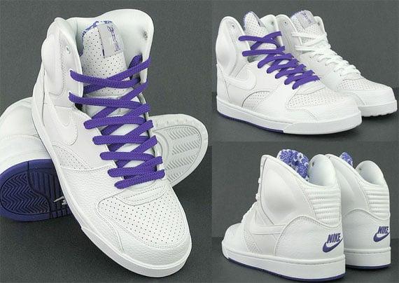 Nike RT1 - White / Pure Purple - Neutral Grey