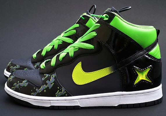 Sole Junkie x Nike Dunk High Xbox Alpha Custom
