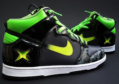 Sole Junkie x Nike Dunk High Xbox Alpha Custom