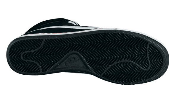 Nike Zoom Classic High SB - Black / White - Red