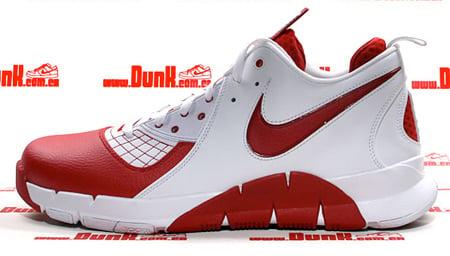 Nike Zoom MVP - White / Varsity Red & Black / White