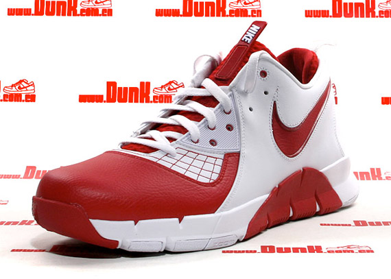Nike Zoom MVP - White / Varsity Red & Black / White
