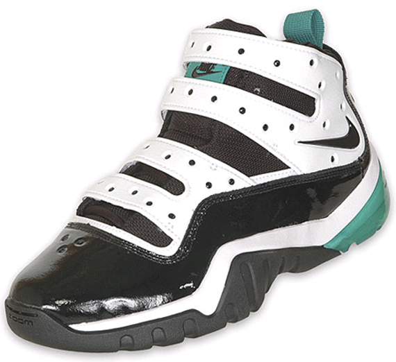 Nike Zoom Sharkley - Black / White / Aqua