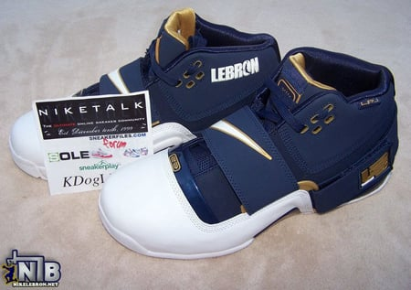 Nike Zoom Soldier '07 LeBron James Skills Academy Player Exclusive