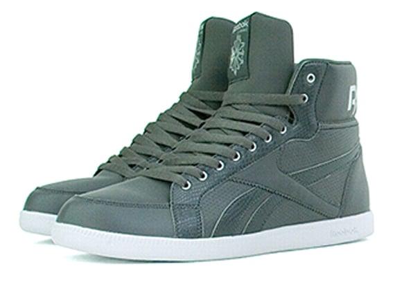TAGS Black Grey Reebok Berlin Shoes Sneakers