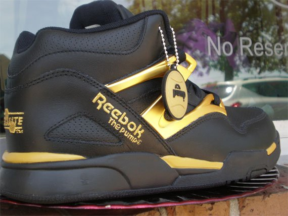 Reebok Omni-Lite Pump - Black / Gold