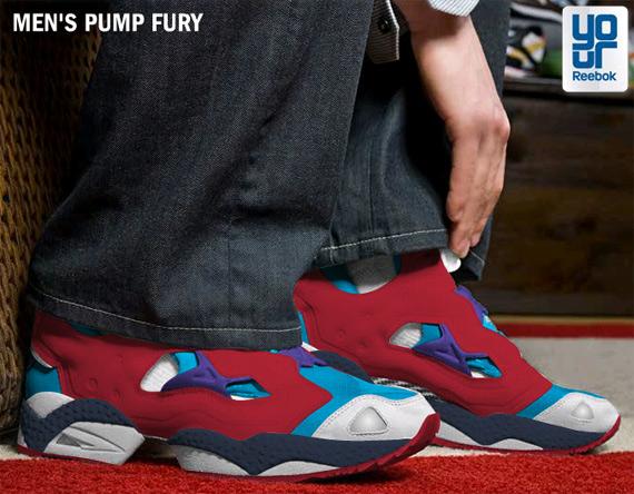 e9b46691bf9442 Reebok Pump Fury YourReebok Custom