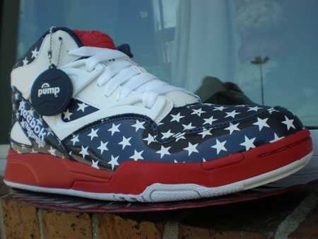 Reebok Pump Omni Lite Stars & Stripes