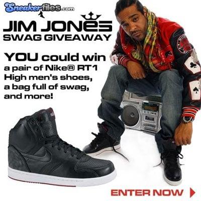 Sneaker Files x Jim Jones Swag Giveaway!