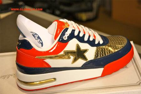 sports shoes 39b14 ad4d6 So So Def x Bape Roadsta Champions
