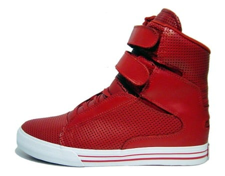 the latest 3ba22 a466e Supra TK Society Red Leather
