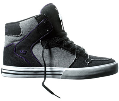Supra Vaider Denim - Black / Grey