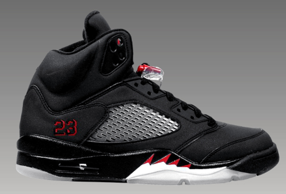 """Toro Bravo"" Air Jordan 5 (V) - Black 