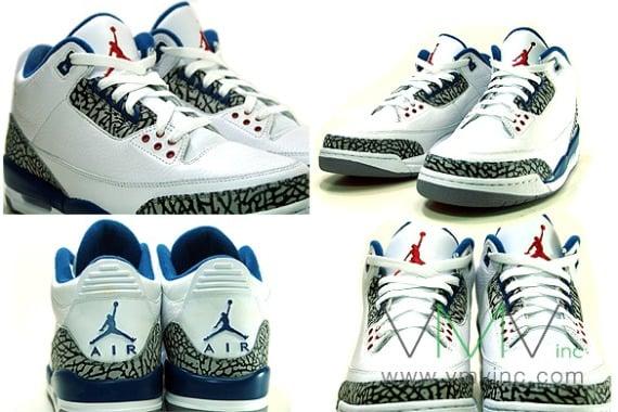 Air Jordan III (3) Retro - True Blue | Detailed Images