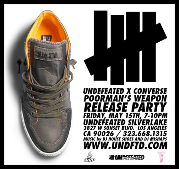Undefeated x Converse Poor Man's Weapon Release Party