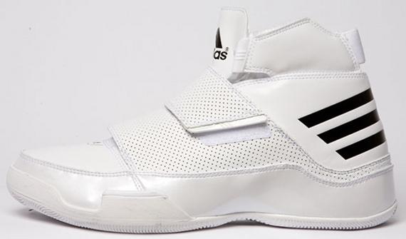 adidas Drop Top - White / Black