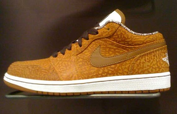 Air Jordan 1 (I) Phat Low - Curry / White