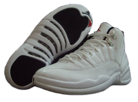 Air Jordan 12 (XII) Rising Sun - White / Black - Varsity Red