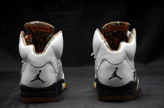 Air Jordan 5 (V) - White / Dark Cinder - Del Sol - Now Available