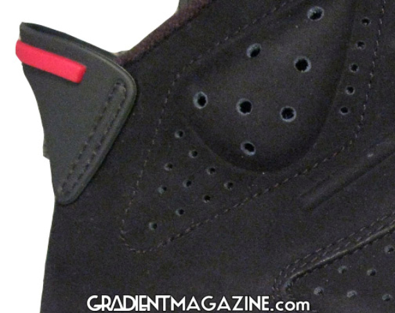 Air Jordan 6 (VI) Retro - Black / Varsity Red