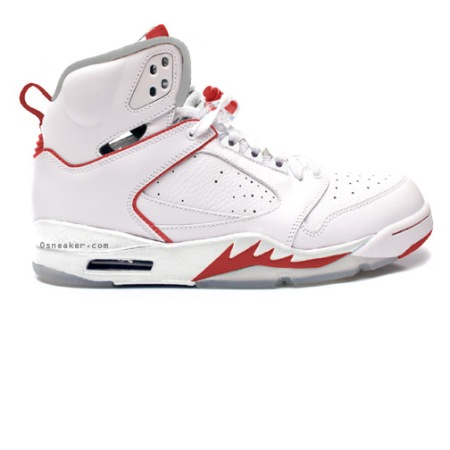 Air Jordan 60+ White/Varsity Red
