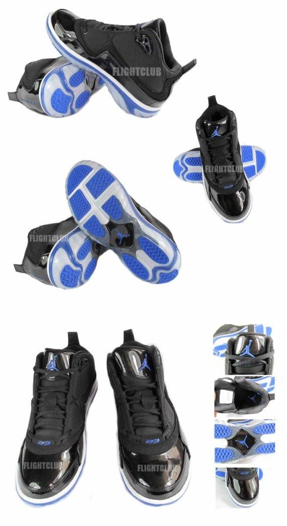 Air Jordan Element - Black / Blue - White
