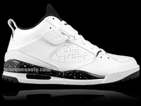 Air Jordan Flight 45 - White / Black - Silver