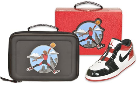 Air Jordan Preschool J Man Casual Shoe & Lunch Box
