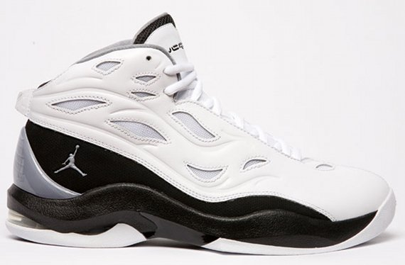 Air Jordan Schoolin' - White / Black - Silver