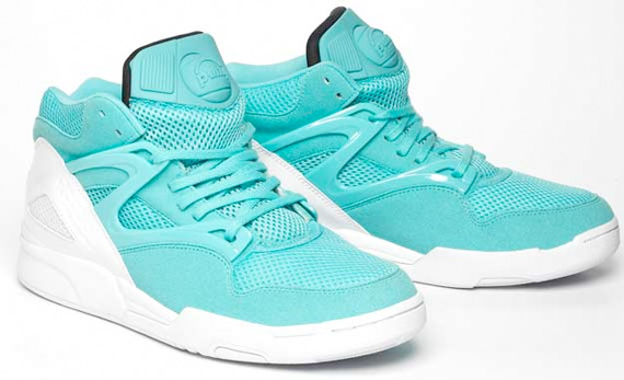 Commonwealth x Reebok Pump Omni Lite - Seafoam Green / White