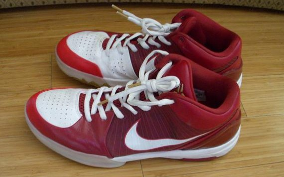 Game Worn Nike Zoom Kobe 4 (IV) Player Exclusives (PE)