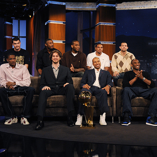 Kobe Bryant Wears Air Jordan 1 on Jimmy Kimmel Live