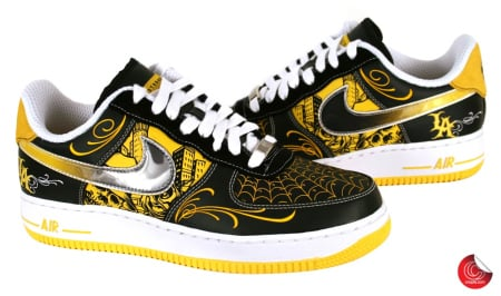 Nike Kids Air Force 1 Mid (Gs) Basketball Shoe
