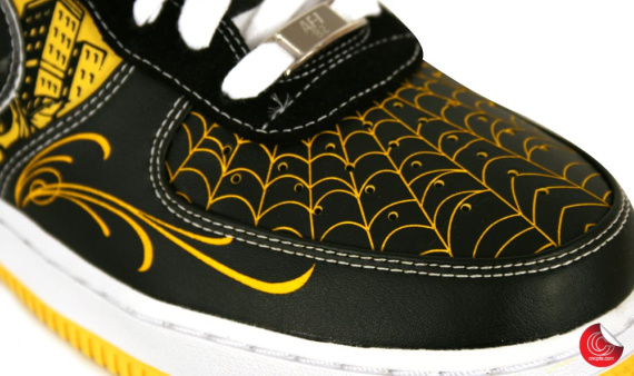 "The LIVESTRONG x ""Mr. Cartoon"" Nike Air Force 1 will be a tier zero release"