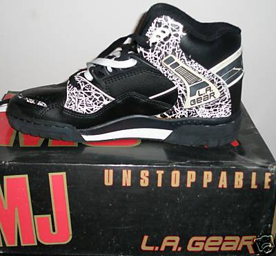 Michael Jackson LA Gear Bad