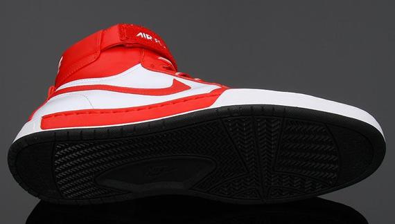 Nike Air Flytop QS - Red, Varsity Royal
