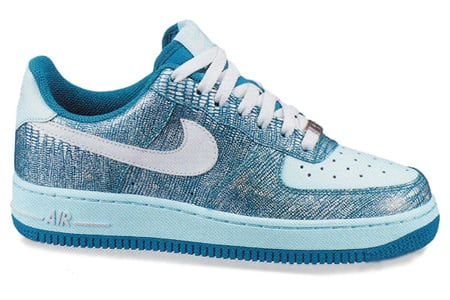 Nike Air Force 1 '07 Women's - Emerald Green / Silver