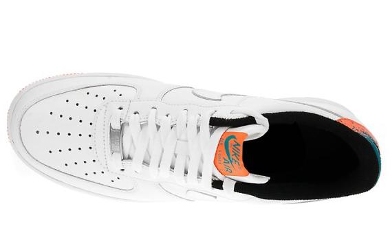 Nike Air Force 1 Low '07 - White / Total Orange
