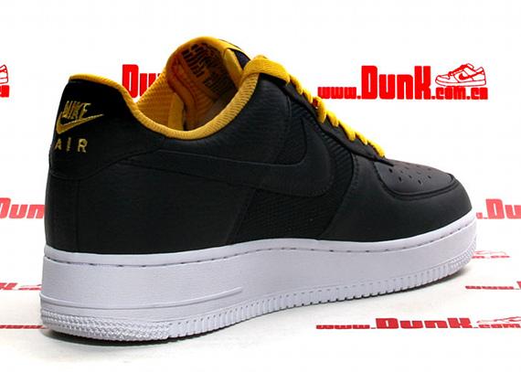 Nike Air Force 1 Low Premium 2K4 - Dark Obsidian / Varsity Maize - White