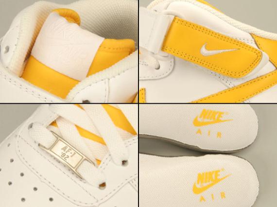 Nike Air Force 1 Mid '07 - White / Varsity Maize