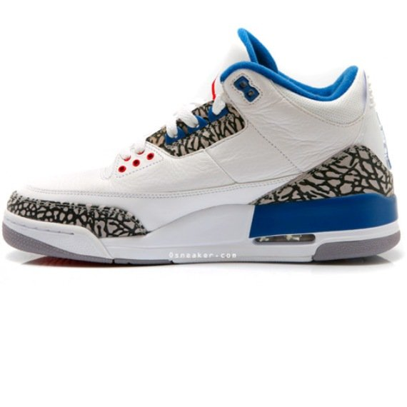 Air Jordan III (3) True Blue